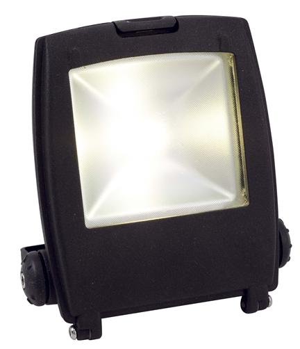 50w Led Flood With Photocell: Ansell Mira Graphite 100W LED Floodlight