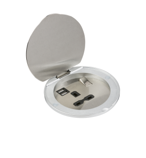 SKR003A - ML Knightsbridge Recessed Socket with USB